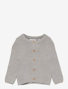BOBA1 - cardigans - mid grey vigore