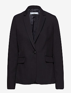 Essential structured blazer - BLACK