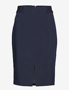 Cut-out detail skirt - NAVY