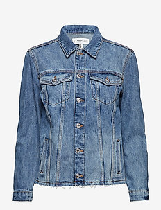 Medium wash denim jacket - OPEN BLUE