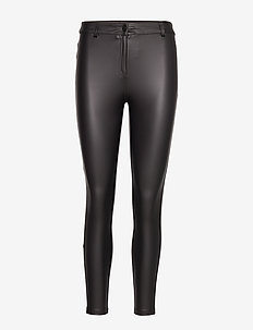 Biker leggings - BLACK