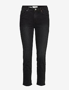 Cropped slim-fit Grace jeans - OPEN GREY