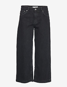 Culotte relaxed jeans - OPEN GREY