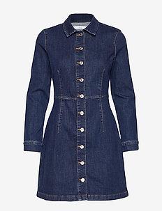 Denim shirt dress - OPEN BLUE