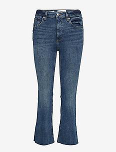 Crop flared jeans - OPEN BLUE