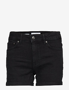 Vicky denim short - OPEN GREY