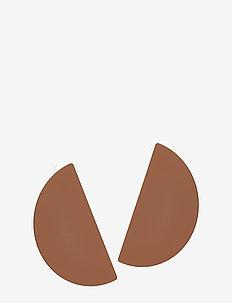 Geometric earrings - MEDIUM ORANGE