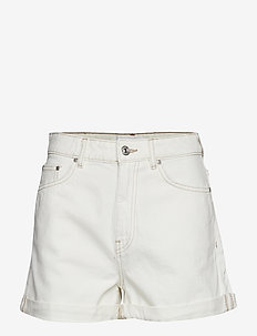 Denim shorts - LIGHT BEIGE