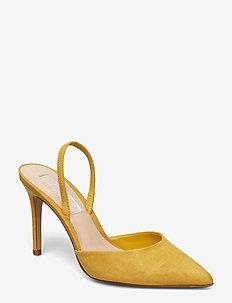 Slingback heel shoes - MEDIUM YELLOW