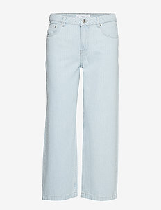 Striped relaxed jeans - OPEN BLUE