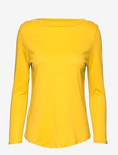 Organic cotton t-shirt - MEDIUM YELLOW