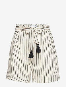 Tassels shorts - LIGHT BEIGE