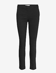 Crop skinny trousers - BLACK