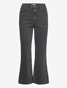 SIENNA - utsvängda jeans - black denim