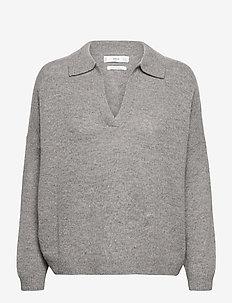 POLIN - tröjor - mid grey vigore