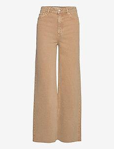 CASILDA - brede jeans - beige