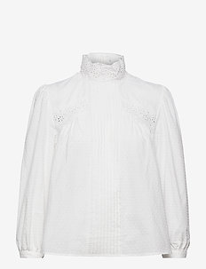 ROMANCE - pitkähihaiset puserot - white