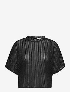 KALISTA - kortærmede bluser - black