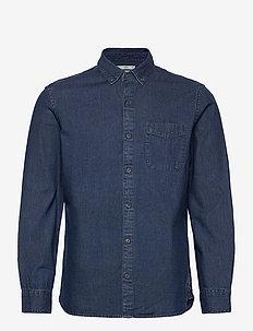 CHAMBRAY - basic skjortor - dark denim