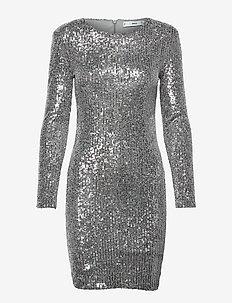 LENJUELA - cocktail-kjoler - silver