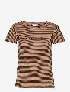PSMANGO - t-shirts - camel