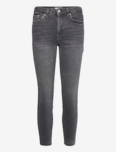 ISA - skinny jeans - open gray