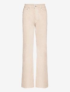 ARIADNA - straight jeans - light beige