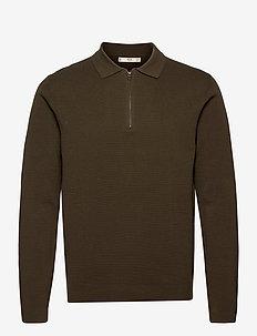 DALSTON - half zip - beige/khaki