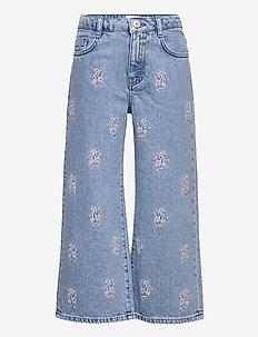 BORDADO-I - jeans - mid denim