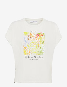 PSTFOLD - t-shirts - offwhite