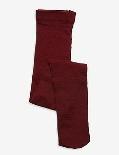 BASIC - strømpebukser - dark red