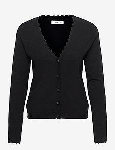 MISPIA - cardigans - black