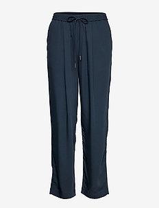 FLUIDO - bukser med lige ben - navy
