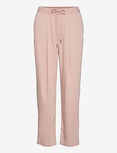 FLUIDO - bukser med lige ben - pastel pink