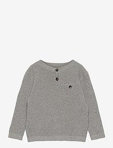 BOJAN - strik - medium gray