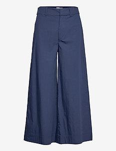 CIEL - bukser med brede ben - navy
