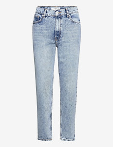 MOM80 - straight jeans - open blue