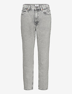 MOM90 - slim jeans - open gray