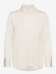 IDEALE - langærmede skjorter - light beige