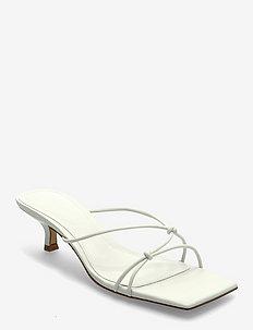 SIMILAR - højhælede sandaler - natural