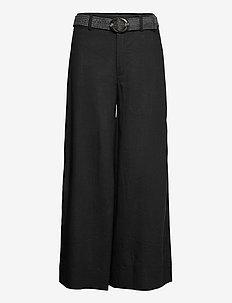 CEL - bukser med brede ben - black