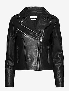 PERFECT - læderjakker - black