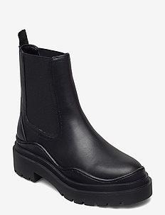 NACHO - chelsea støvler - black