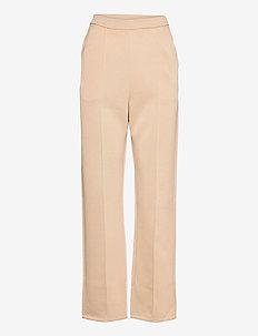 TAMMY - bukser med lige ben - light beige