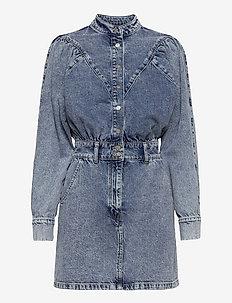 LOLA - jeansjackor - open blue