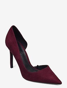 AUDREY - klassiske pumps - dark red