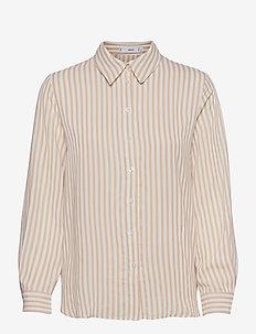 BASIC - pitkähihaiset paidat - brown