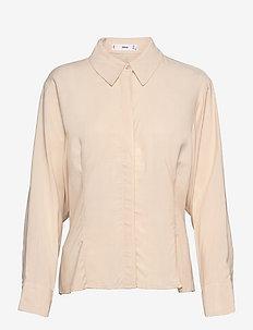 ROYK - langærmede skjorter - ecru