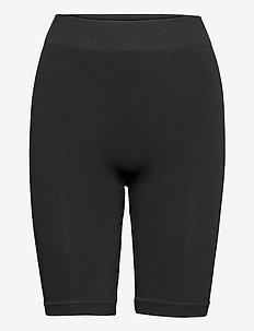 SEAM - cykelshorts - black