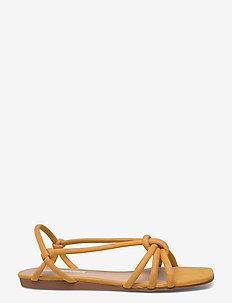 KNOTS1 - flade sandaler - mustard